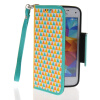 MOONCASE Fashion Leather Side Flip Wallet Card Slot Pouch Stand Back чехол для Samsung Galaxy S5 Mini камуфляжный защитный чехол для samsung galaxy s5