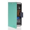 MOONCASE Classic cross pattern Leather Side Flip Wallet Card Slot Pouch Stand Shell Back ЧЕХОЛДЛЯ HTC Desire 816 Azure