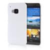 MOONCASE Hard Rubberized Rubber Coating Devise Back ЧЕХОЛДЛЯ HTC One M9 White чехол для htc one x в самаре