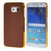 MOONCASE Litchi Skin золото Chrome Hard Back чехол для Cover Samsung Galaxy S6 браун mooncase litchi skin золото chrome hard back чехол для cover lg g4 браун
