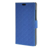 MOONCASE Maze grid Style Wallet Leather Card Slot Bracket Back чехол для BlackBerry Leap Dark blue