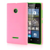 MOONCASE Hard Rubberized Rubber Coating Devise Back ЧЕХОЛДЛЯ Nokia Lumia 532 Pink чехол для lumia 532 nokia cp 634 orange