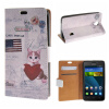 MOONCASE Huawei Ascend Y635 ЧЕХОЛ ДЛЯ Flip Wallet Card Slot Stand Leather Folio Pouch /a14 boxwave huawei g6310 bamboo natural panel stand premium bamboo real wood stand for your huawei g6310 small