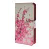 MOONCASE Plum flower style Leather Wallet Flip Card Slot Stand Pouch чехол для HTC Desire 620 A06 htc desire 650