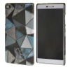 MOONCASE Personality style Hard Rubber Shell Back чехол для Cover Huawei Ascend P8 грей ecostyle shell чехол флип для huawei ascend d2 black