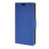 MOONCASE Maze grid Style Wallet Leather Card Slot Bracket Back чехол для Nokia Lumia 540 N540 Dark blue