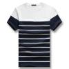 Плюс Размер 5xl Мужская футболка мода с коротким рукавом новые футболки 2016 лето хлопок мужчины футболка Homme свободного топы ТиС горячая Распродажа футболка catimini футболка