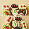 MyMei 8Pcs Dollhouse Miniature Cakes Assorted Chocolate Strawberry Cherry Cakes cookin make apollo strawberry chocolate candy