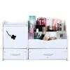 (TRNFA) TN-MS9608 Косметический ящик для хранения Настольный шкаф для хранения Шкаф для одежды Комод Зеркало для косметики Коробка в ящике в стиле шкафа Водонепроницаемая камера хранения