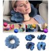 MyMei  Comfortable Travel Pillow Bluet Twist Neck Back Head Cushion Neck Massage New new lmp f331 replacement projector bare lamp for sony vpl fh31 vpl fh35 vpl fh36 vpl fx37 vpl f500h projector