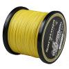 8 Пряди 10 LB-300lb испытания желтый 100m-2000m плетеная леска