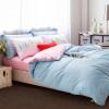 Yalu бесплатно четыре набора домашнего текстиля хлопка Shuangju чистый набор цветов 1,5 м -1,8 м кровать общая кровать постельные принадлежности 200 * 230 см мелодия