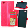 купить MOONCASE Чехол для Huawei Ascend P8 Lite Фолио слот Флип кожаный бумажник карты и складной подставкой Feature Чехол Обложка недорого