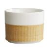 [Супермаркет] Gui Бао Jingdong кружка серия Ротанг бамбук сообщили безопасность изолированной чашки кофе творческого минималистские пару чашек офис чашка молока (комплект) паяльник bao workers in taiwan pd 372 25mm