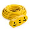 розетка Бриз (kyfen) QF-В2 емкость общая длина 15 м длиной три инженерно-желтый розетка бриз kyfen qf c4 16a длинные подвижные кабели taping перегрузки общая длина 30 м