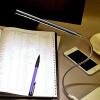 Мини-стол для чтения USB LED Light гибок для ноутбука ноутбук Портативный Новый