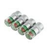 MyMei New 4PCS/lot 2.4Bar Car Tire Monitor Pressure Gauge Cap Sensor Indicator