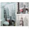 MyMei London Big Ben Pattern Shower Curtain Bathroom Waterproof Fabric Home Decor merry christmas waterproof shower curtain bathroom decoration