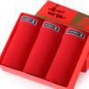 PLAYBOY Мужские красные трусики 3 шт. в подарочной коробке трусики с кольцом в коробке