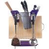 шоу Сакуры (SakkaraShow) Слить вогнутую держатель инструмента стойки кухни стеллажи AE-1185 цвет случайным