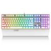 Rapoo V720 RGB полноцветный с подсветкой игровой клавиатуры механический игровой клавиатуры клавиатура с подсветкой клавиатуры компьютера клавиатуры ноутбука белый черный вал rapoo v720 rgb механическая клавиатура с подсветкой