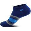 Семь восков носки мужские хлопчатобумажные носки мода досуг спортивные мелкие короткие короткие носки 6 двойная коробка подарка смешанная цветовая форма 91324