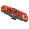 EasyDo велосипед задний фонарь лампа светодиодные задние фонари открытый горный велосипед езда Taillight QR дорога путешествия TrialFixed складной водонепроницаемый задние фонари лампа светится верховых TD9242