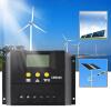 60A 12-24 / 48V Солнечный регулятор Солнечный контроллер заряда ЖК-Solar Genetator солнечный жк екатеринбург квартиру от застройщика