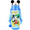 Disney DISNEY детский портативный ремешок теплой воды чашка ребенка мультфильм солома изоляция горшок 450ML синий Микки дисней детские чашки с ручками микки синий