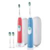 Philips (PHILIPS) HX6234 / 35 Электрическая зубная щетка загружены цвета (красный + синий)