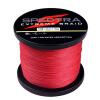 100M-2000M 6LB-300LB Теst красный 100% PE Dyneema плетеная леска