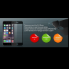Ainy 2.5D full cover защитное стекло screen protector для iPhone 6S/6S Plus черное 0.33mm матовое защитное стекло ainy для apple iphone 7 plus