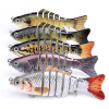 MyMei Life-like Multi Jointed Fishing Lure Swim Bait 3.9'' Fishing Bass Pike Killer