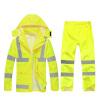 CNMF moufu  флуоресцентный желтыйплащполицииплащдорожной полицииплащна дежурствеплащ плащ woodland плащ