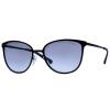 VOGUE Vogt черный кадр очки женские модели ретро моды очки серый градиент линзы очки VO4002S 352S11 55мм vogue vogel легкая коробка стример серия стильных и элегантных черного кадра очки полный кадр оптических оправ vo5037d w44 53мм