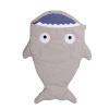 Детский спальный мешок Новорожденный акулы Sack Пеленальный Одеяло Коляски Детские постельные принадлежности серова м клад белой акулы
