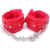 MyMei Fetish Handcuffs Leather Sex Slave Hand Ring Ankle Cuff Restraint Toy