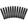 (Comix) 12 загружен черный логистика быстрое масло головы маслянистое перо ручка канцелярские канцелярские принадлежности MK818 корейский канцелярские канцелярские акварель ручка гелевые ручки комплект 10шт цвет kandelia