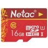 Карта памяти Netac P500 16 GB Micro SD, Class10 ov 64gb micro sd карты памяти карты class10 мобильный телефон карточки памяти