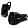 Philips (PHILIPS) Автомобильное зарядное устройство автомобиля Bluetooth гарнитуры SHB1801 наушники-вкладыши черный бизнес стоимость