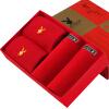 PLAYBOY Мужские красные трусики (2 шт.) и две пары красных носок jianjiang мужские трусики 2 шт