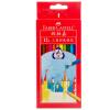 Faber-castell Масляные цветные карандаши 12 цветов Треугольные цветные цвета Карандаши 115853 centrum карандаши цветные monster high
