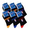 NBA баскетбол носки мужские носки случайные носки эластичные носки хлопок носки установлены 6 пар