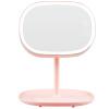 MECOR Креативные подарки Светодиодный рабочий стол зеркало для макияжа перезаряжаемый сенсорный переключатель можно хранить 520 подарок, чтобы отправить его подруга подарок на день рождения lotus pink 8502