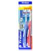 TRISA зубная щетка для очистки языка*2 trisa расческа массажная маленькая дерево