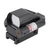 Тактический Голографическая Reflex красный / зеленый Dot Scope 4 Перекрещение & Красный лазерный прицел
