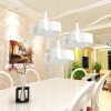 [Супермаркет] Jingdong NVC (NVC) гостиной люстра ресторан люстра творческой минималистский люстра лампа 300 * 1200 (LED 24W)