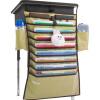 Превосходный и превосходный (UHOO) 6510 студентов висит книжный мешок бежевый 64 * 43см настольные книжные шкафы