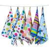 9i9 купальное полотенце для младенцев wellber марли и полотенце для младенцев 40 18cm 4шт