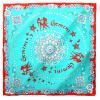 Мария Gucci (Марджа Керки) созвездие Близнецов шелковые шарфы ручной бисером новый европейский стиль небольшой площади 1Z114056